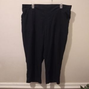 EUC JCPenney Made For Life Navy Active Capris